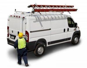 Prime Design cargo van and truck roof storage solutions
